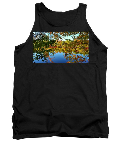 Tank Top featuring the photograph Enchanted Fall by Valentino Visentini