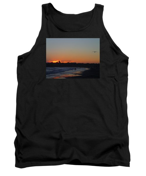 End Of The Island Day. Tank Top by Robert Nickologianis