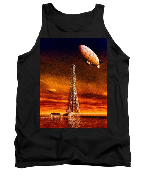 End Of The Road Tank Top by Bob Orsillo