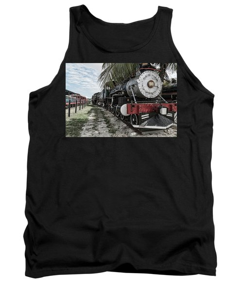 Engine 1342 Parked Tank Top