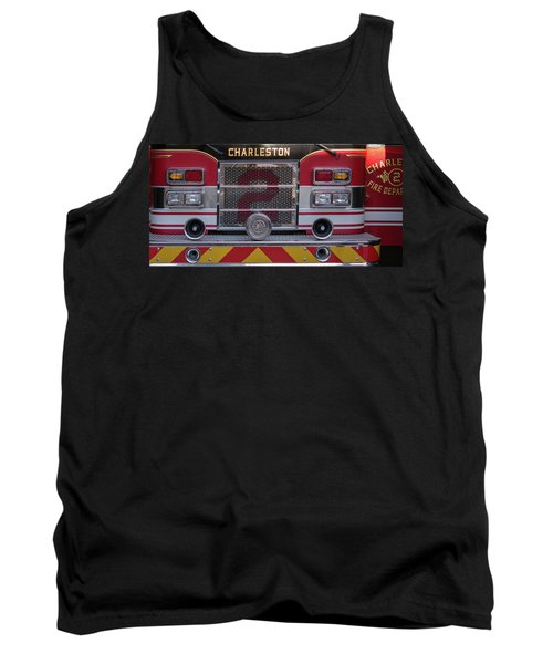 Engine Number Two Tank Top by Patricia Schaefer