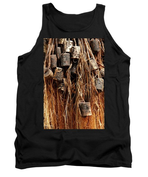 Tank Top featuring the photograph Enkhuizen Fishing Nets by KG Thienemann