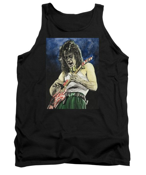 Tank Top featuring the painting Eruption  by Lance Gebhardt