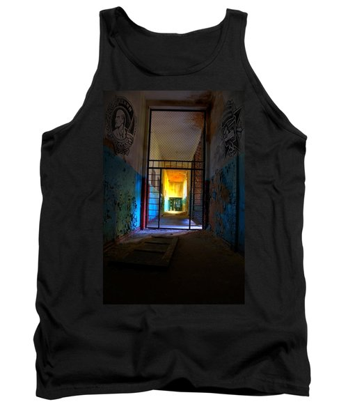 Escaped Tank Top by Nathan Wright