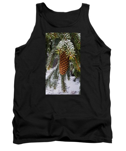 Essence Of Winter  Tank Top by Bruce Carpenter