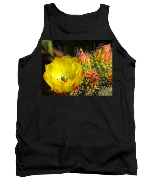 Silks Among Needles Tank Top