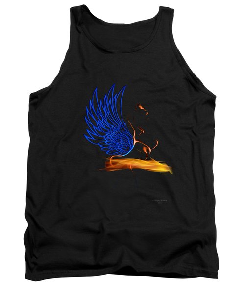 Ethnic Solar Wings Tank Top by Majula Warmoth