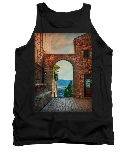 Etruscan Arch Tank Top by Hanny Heim