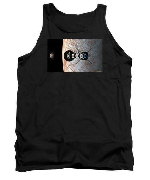Tank Top featuring the digital art Europa Insertion by David Robinson