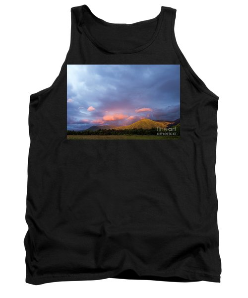 Tank Top featuring the photograph Evening In Cades Cove - D009913 by Daniel Dempster