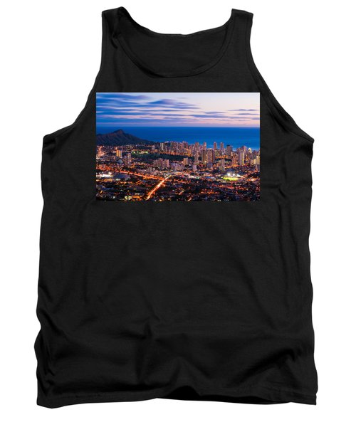 Evening In Honolulu Tank Top