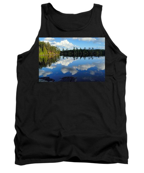 Evening Reflections On Spoon Lake Tank Top