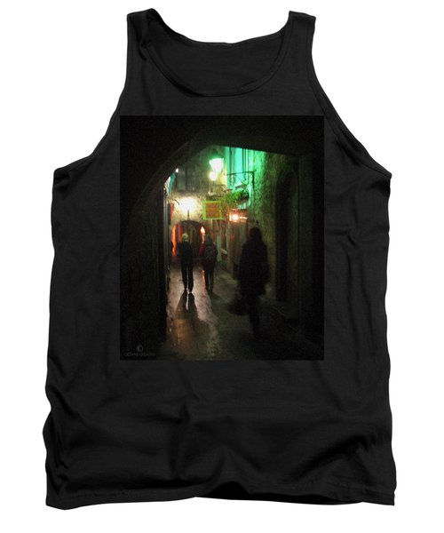 Evening Shoppers Tank Top