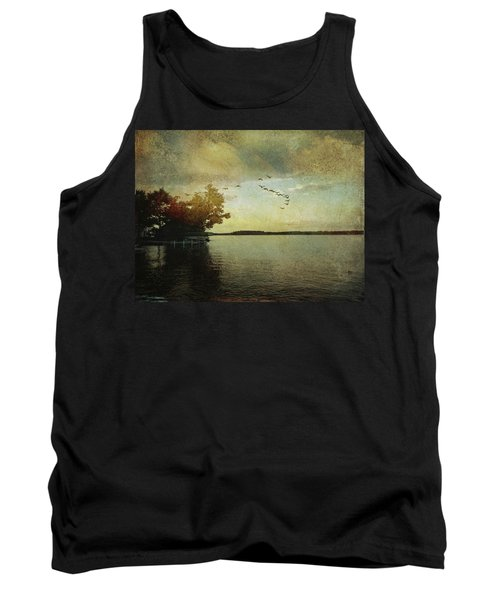 Evening, The Lake Tank Top