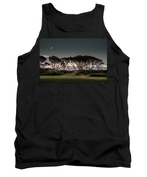 Dusk At Fort Fisher Tank Top by Phil Mancuso