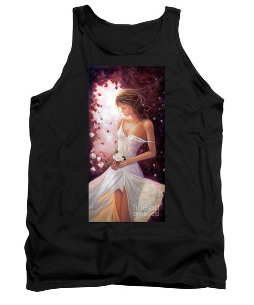 Evocative Scent Of A Summer Rose Tank Top by Michael Rock