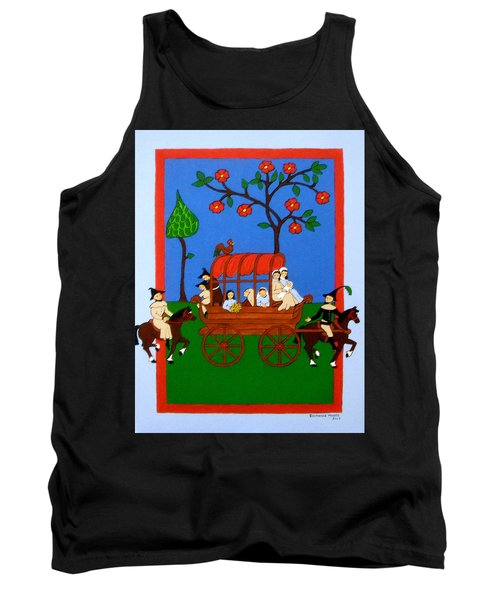 Tank Top featuring the painting Expulsion Of The Jews For M Spain by Stephanie Moore