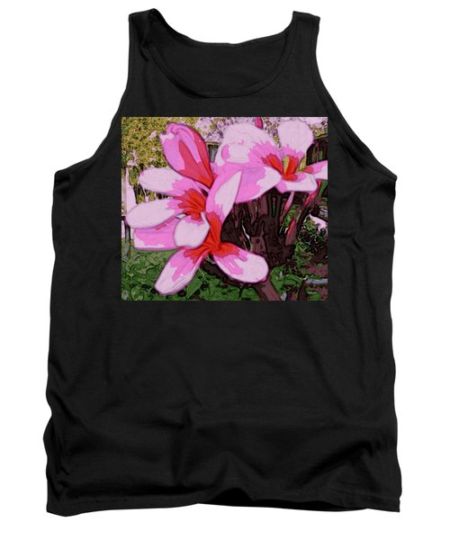 Tank Top featuring the digital art Exuberance by Winsome Gunning