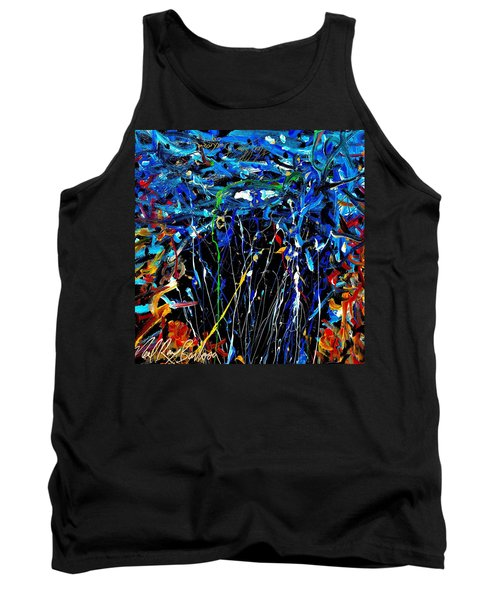 Eye In The Sky And Water Tank Top