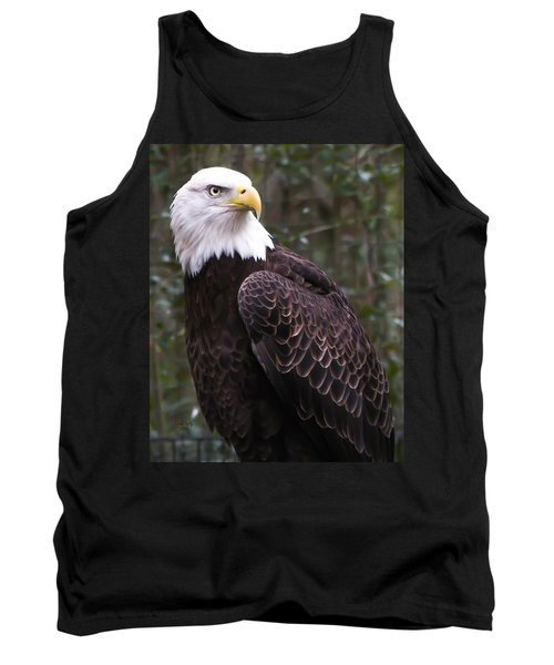 Eye Of The Eagle Tank Top by Trish Tritz