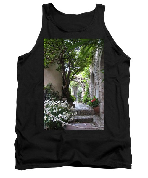 Tank Top featuring the photograph Eze Passageway by Carla Parris