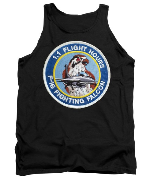 F-16 Ride Patch Tank Top