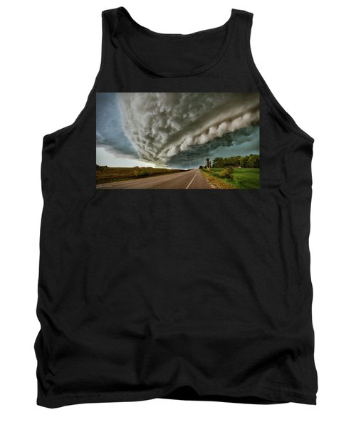 Face In The Storm Tank Top