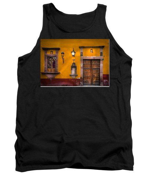 Face In The Window Tank Top