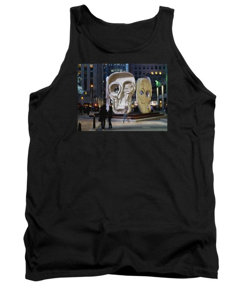 Faces Tank Top by Helen Haw