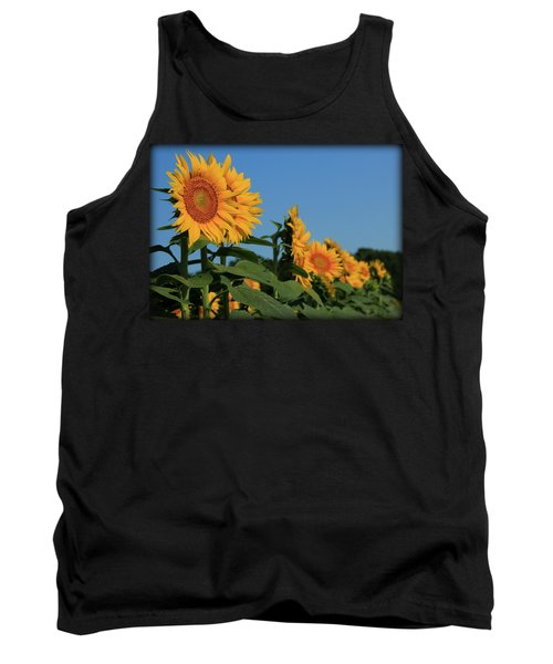 Tank Top featuring the photograph Facing East by Chris Berry