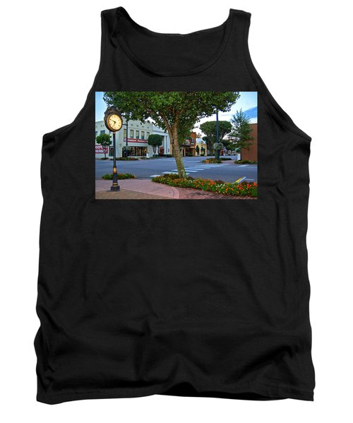 Fairhope Ave With Clock Tank Top