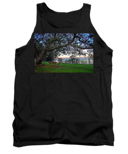 Fairhope Swing On The Bay Tank Top
