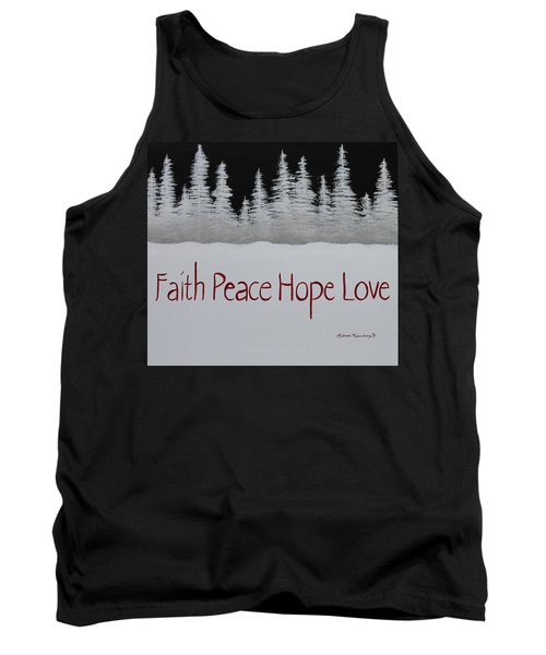 Faith, Peace, Hope, Love Tank Top