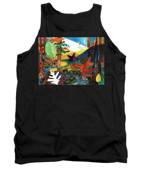 Fall Along The Patuxent Tank Top