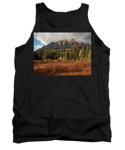 Fall At Castle Mountain Tank Top