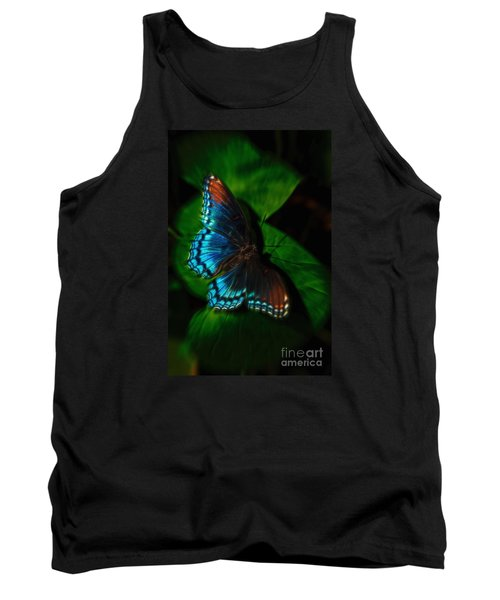 Fall Butterfly Tank Top