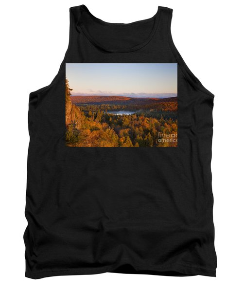 Fall Colors Orberg Mountain North Shore Minnesota Tank Top