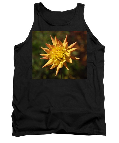 Tank Top featuring the photograph Fall Flower by Richard Bryce and Family