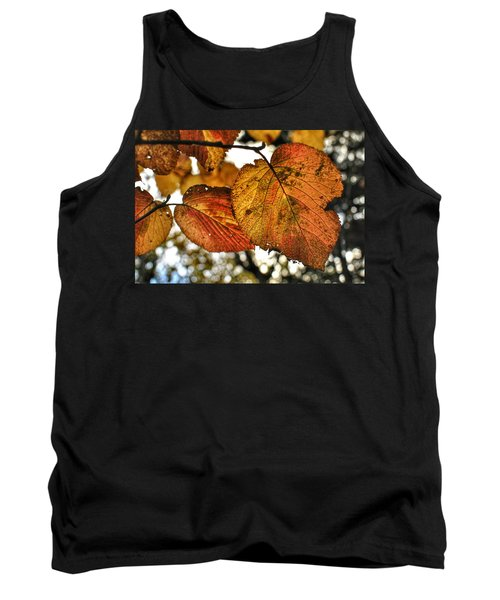 Fall Leaves Tank Top