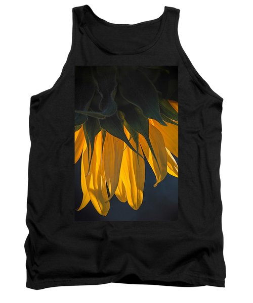 Falling Yellow  Tank Top