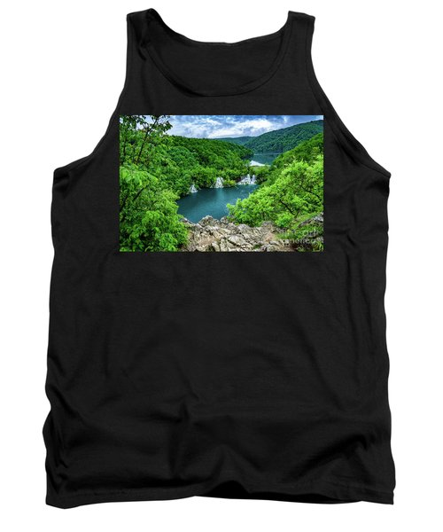 Falls From Above - Plitvice Lakes National Park, Croatia Tank Top