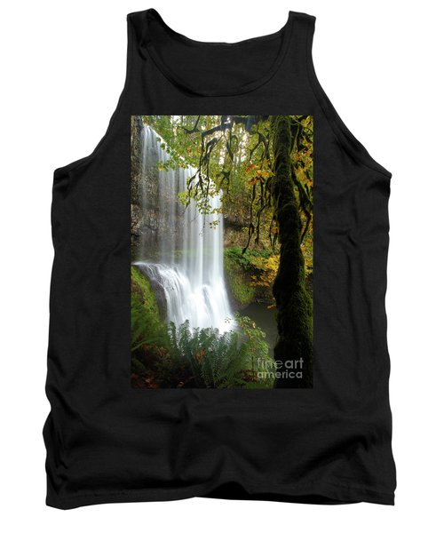 Falls Though The Trees Tank Top by Adam Jewell