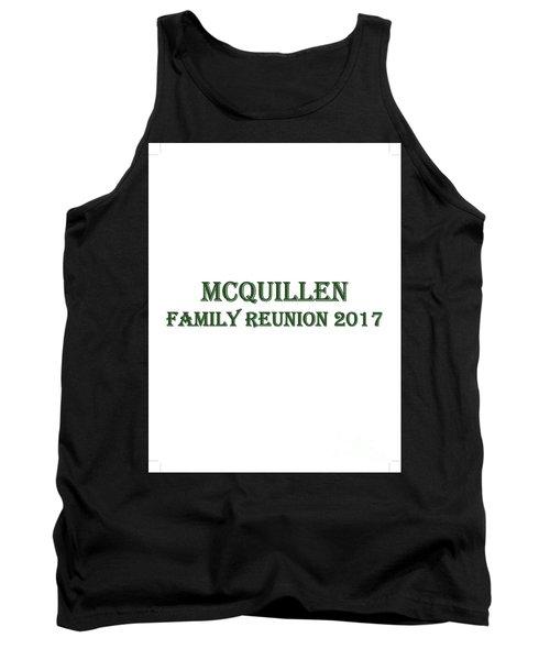 Family Reunion 2017 Tank Top