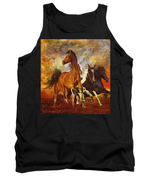 Fantasy Horse Visions Tank Top by Steve Roberts