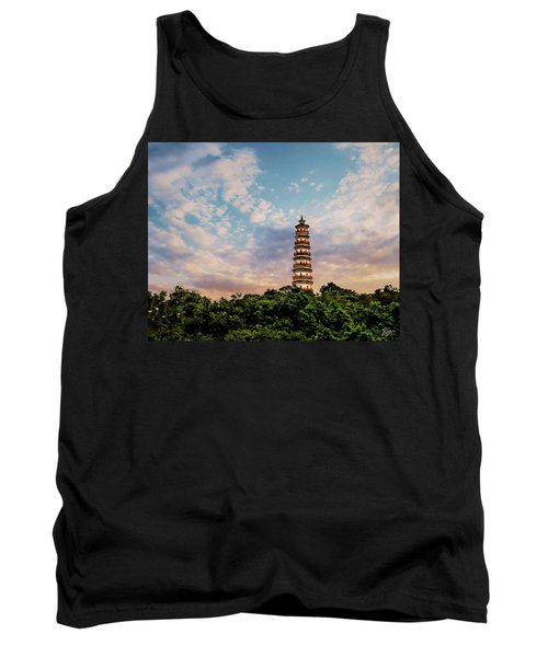 Far Distant Pagoda Tank Top