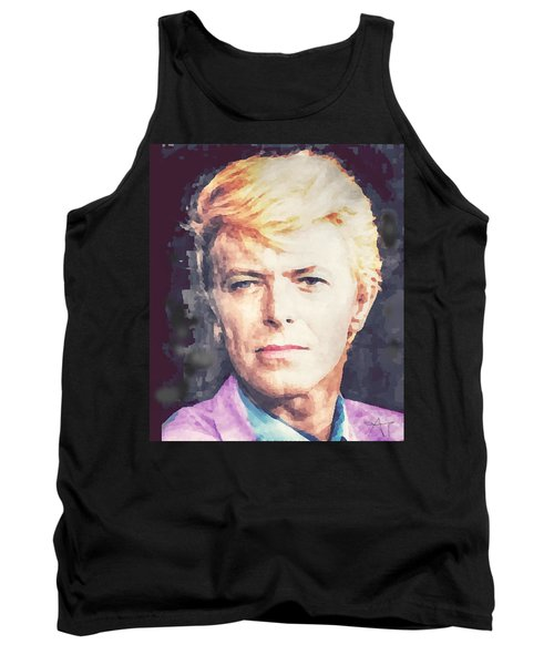 Farewell David Bowie Tank Top