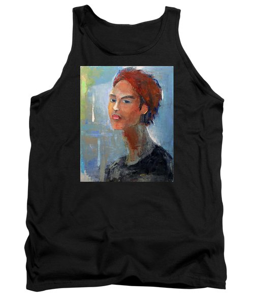 Fascination Tank Top by Becky Kim