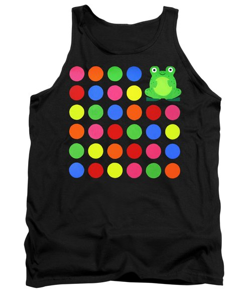 Discofrog Remix Tank Top by Oliver Johnston