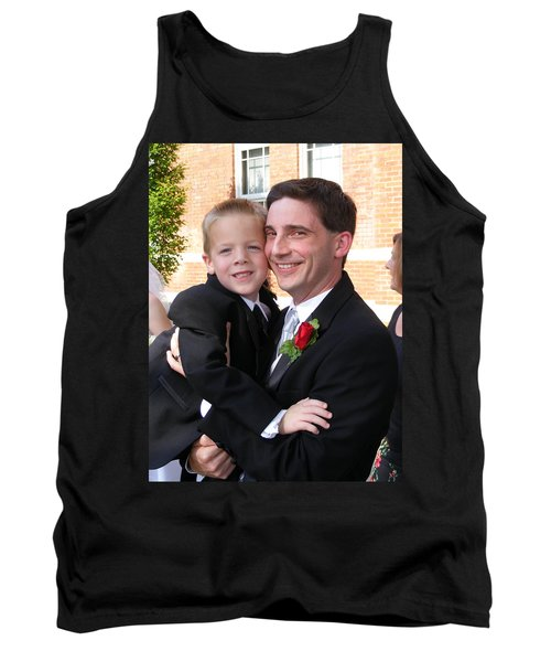 Father And Son Tank Top by Adam Cornelison