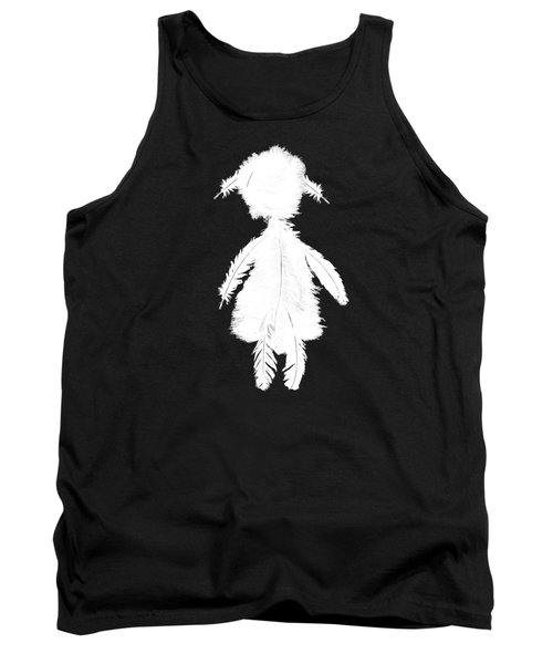 Feathergirl From Playing The Angel White Tank Top